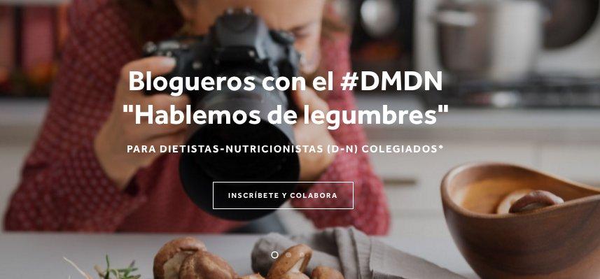 De legumbres, educación por su consumo, #CucharasdeSalud y #DMDN